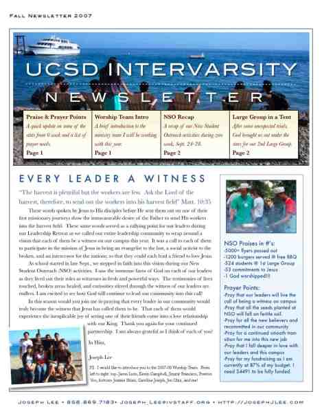 Fall Newsletter 2007 jpg